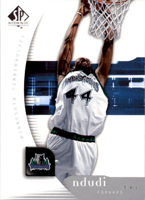 2005-06 SP Authentic #51 Ndudi Ebi