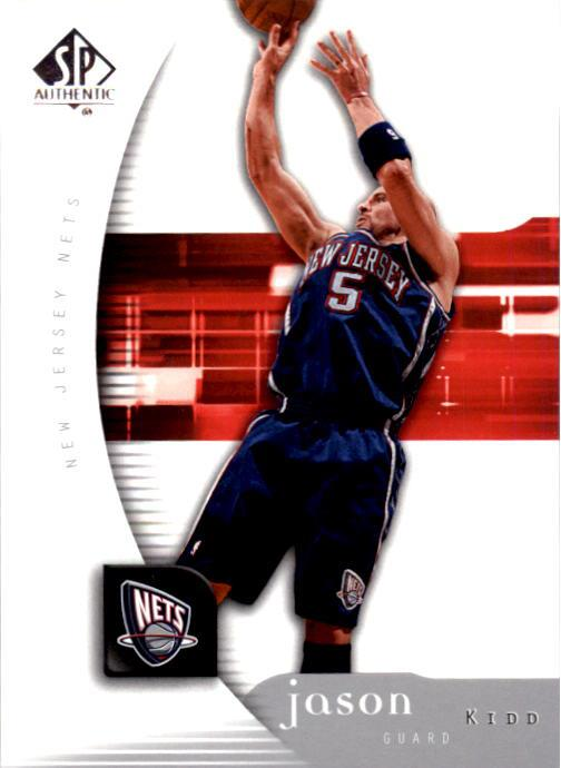 2005-06 SP Authentic #52 Jason Kidd