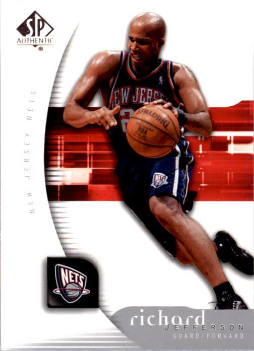 2005-06 SP Authentic #53 Richard Jefferson