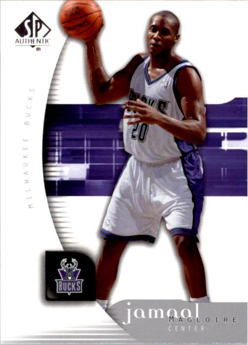 2005-06 SP Authentic #57 Jamaal Magloire