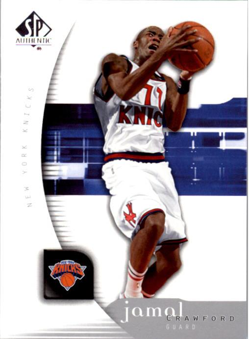 2005-06 SP Authentic #58 Jamal Crawford