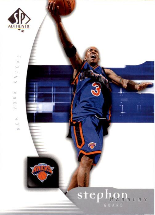 2005-06 SP Authentic #59 Stephon Marbury
