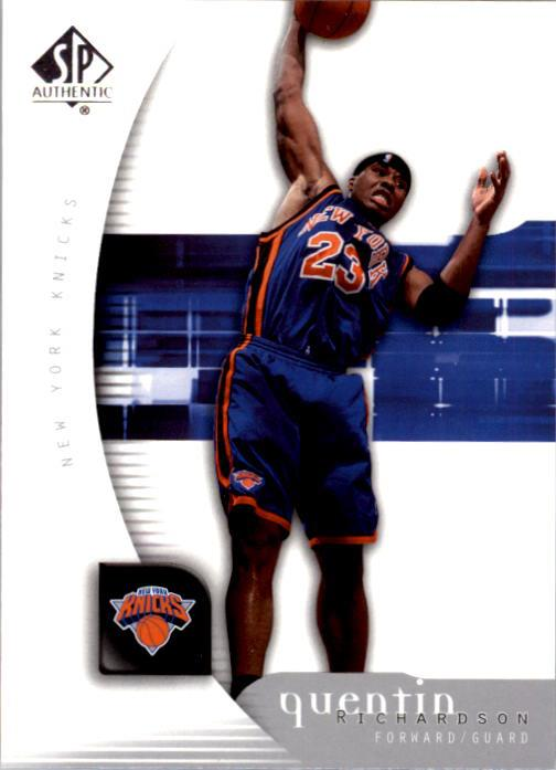 2005-06 SP Authentic #60 Quentin Richardson