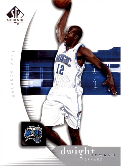 2005-06 SP Authentic #61 Dwight Howard
