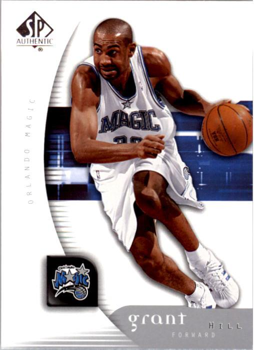2005-06 SP Authentic #62 Grant Hill