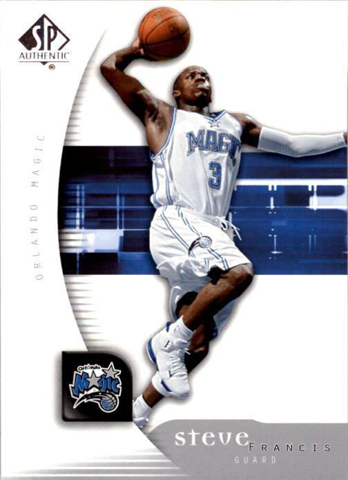2005-06 SP Authentic #63 Steve Francis