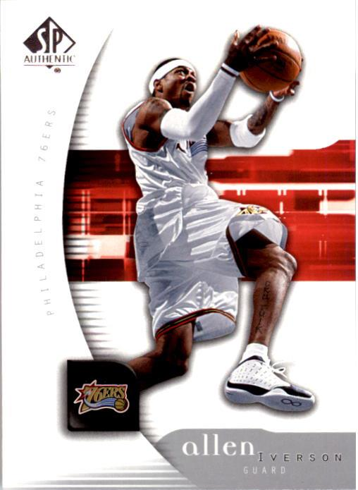 2005-06 SP Authentic #64 Allen Iverson