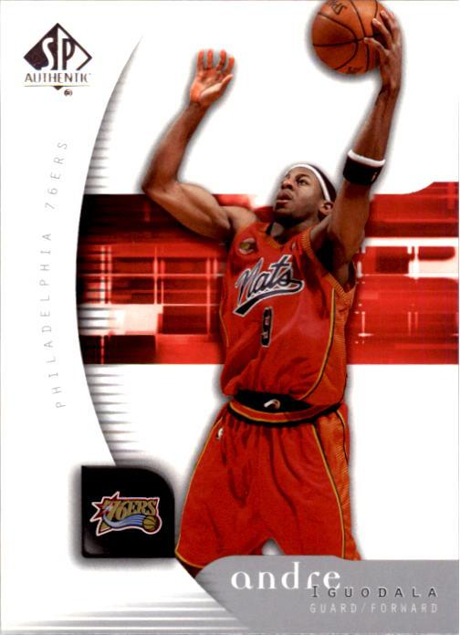 2005-06 SP Authentic #65 Andre Iguodala
