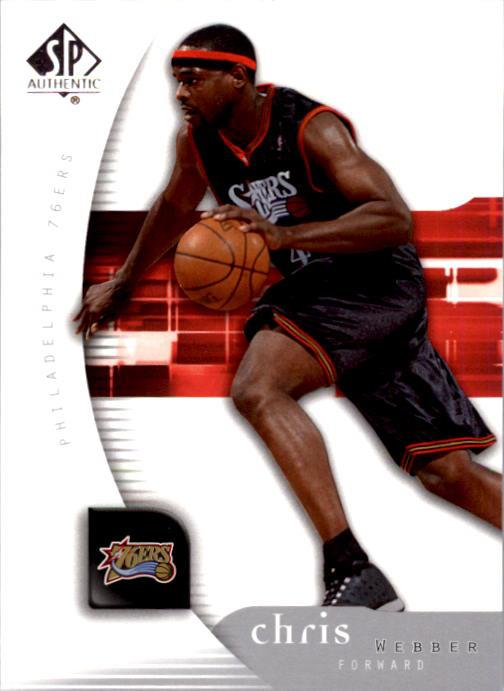 2005-06 SP Authentic #66 Chris Webber