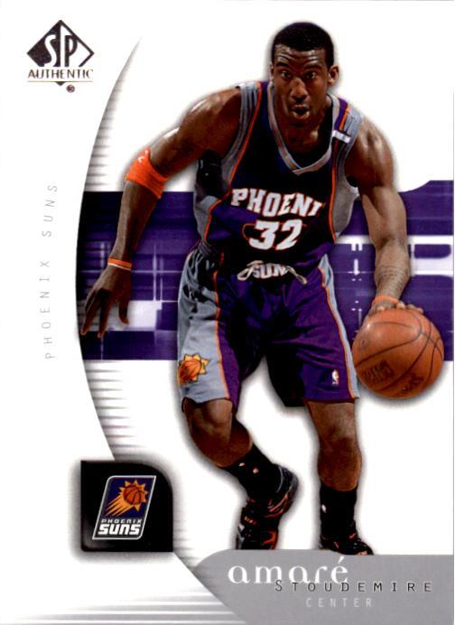 2005-06 SP Authentic #67 Amare Stoudemire