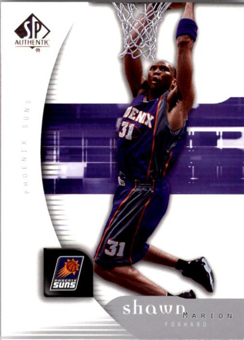 2005-06 SP Authentic #68 Shawn Marion