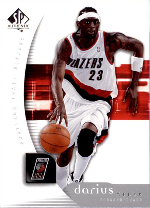2005-06 SP Authentic #71 Darius Miles