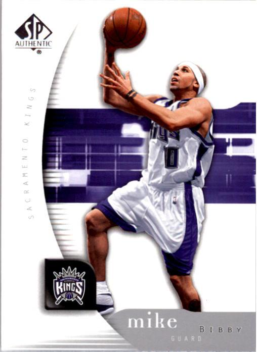 2005-06 SP Authentic #74 Mike Bibby