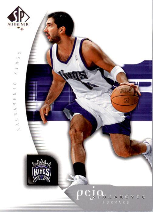 2005-06 SP Authentic #75 Peja Stojakovic