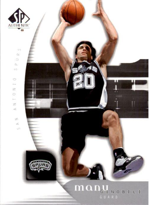 2005-06 SP Authentic #76 Manu Ginobili
