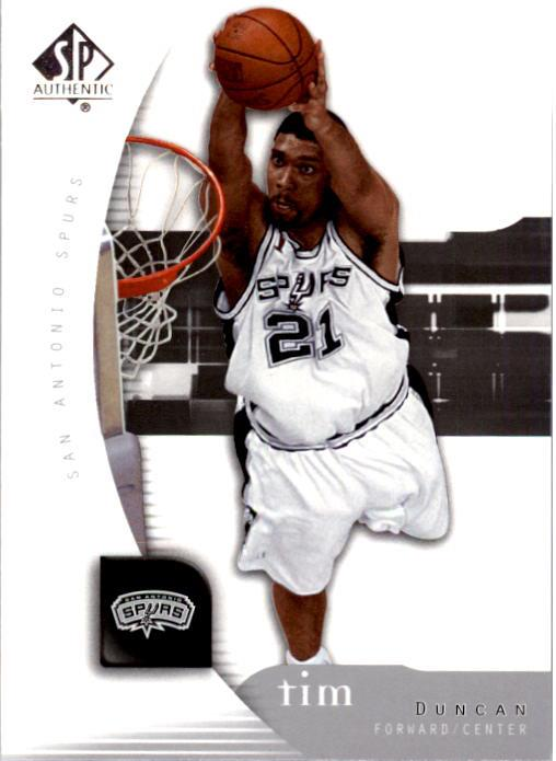 2005-06 SP Authentic #77 Tim Duncan