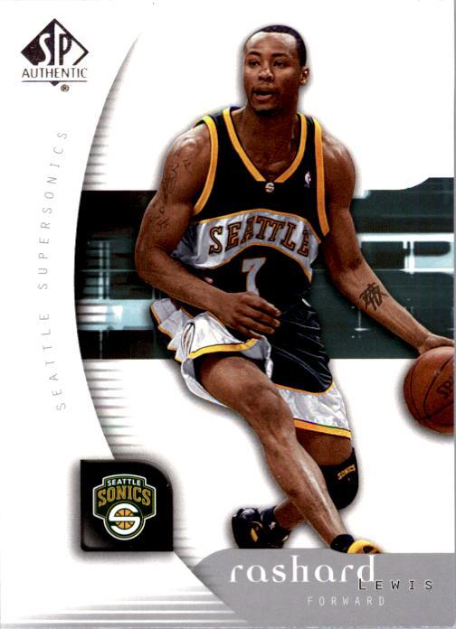2005-06 SP Authentic #80 Rashard Lewis