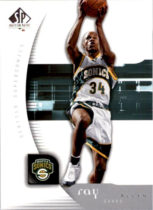 2005-06 SP Authentic #81 Ray Allen
