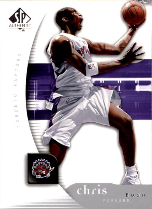 2005-06 SP Authentic #82 Chris Bosh