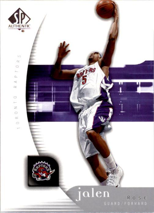 2005-06 SP Authentic #84 Jalen Rose