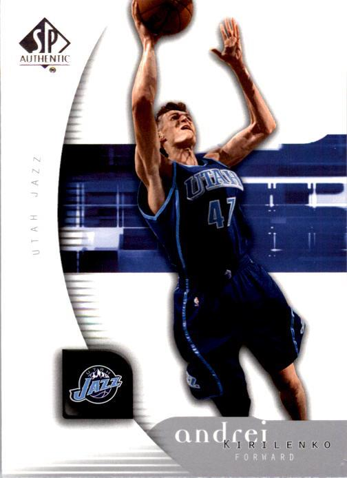 2005-06 SP Authentic #85 Andrei Kirilenko