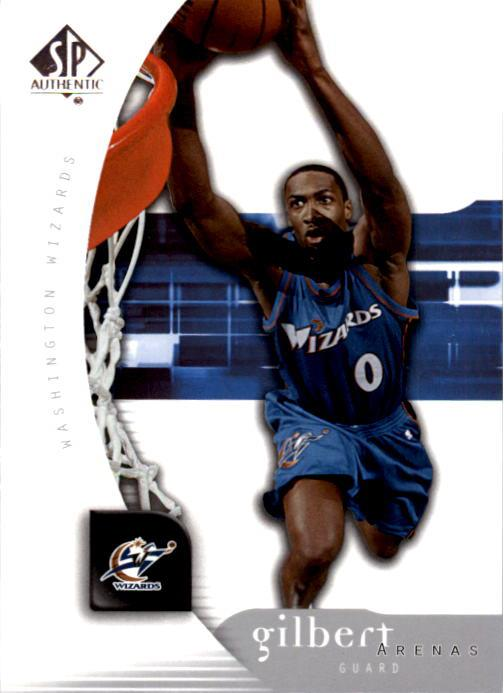 2005-06 SP Authentic #89 Gilbert Arenas