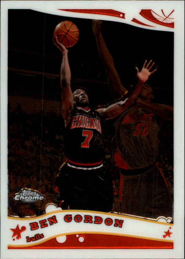 2005-06 Topps Chrome #4 Ben Gordon