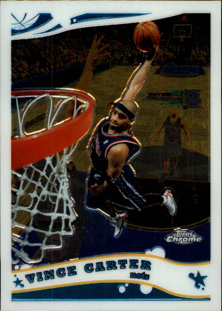 2005-06 Topps Chrome #11 Vince Carter