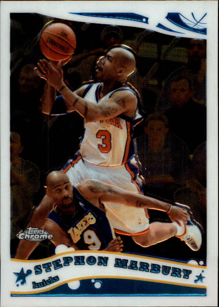 2005-06 Topps Chrome #44 Stephon Marbury