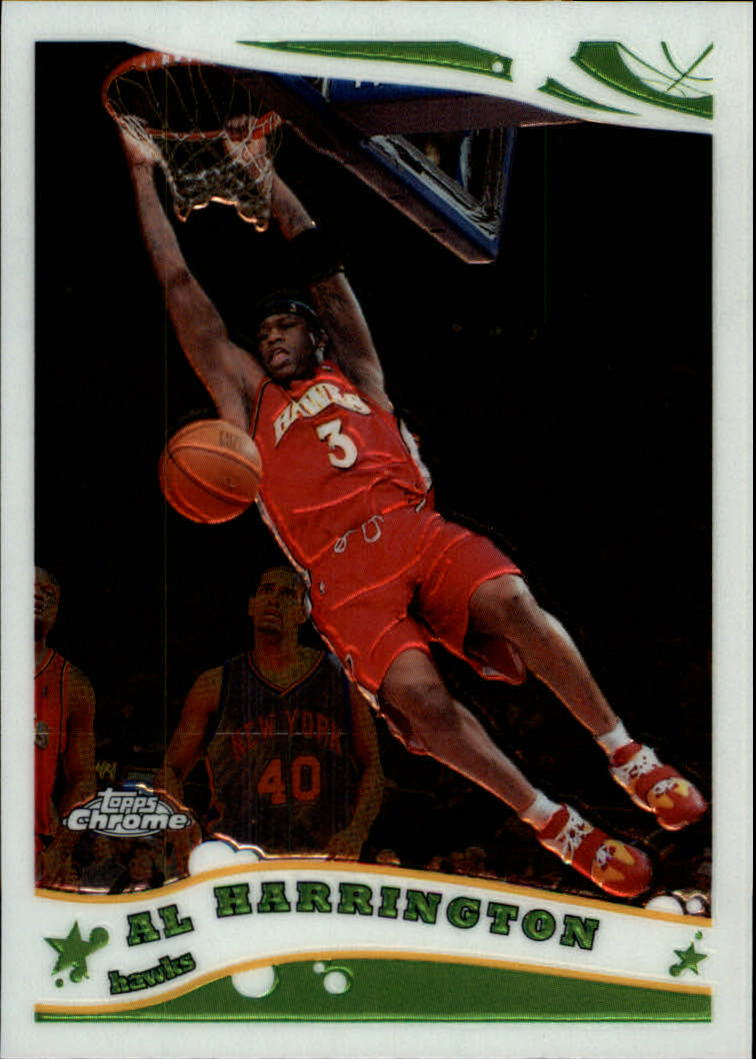 2005-06 Topps Chrome #55 Al Harrington