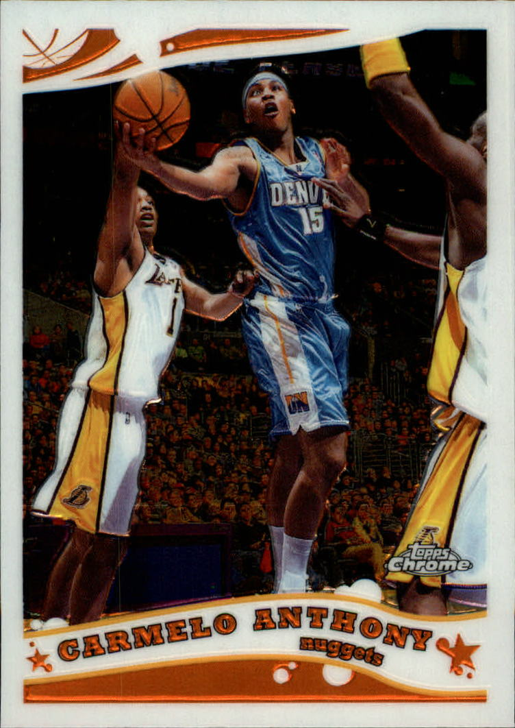 2005-06 Topps Chrome #71 Carmelo Anthony