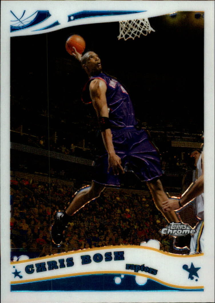 2005-06 Topps Chrome #80 Chris Bosh