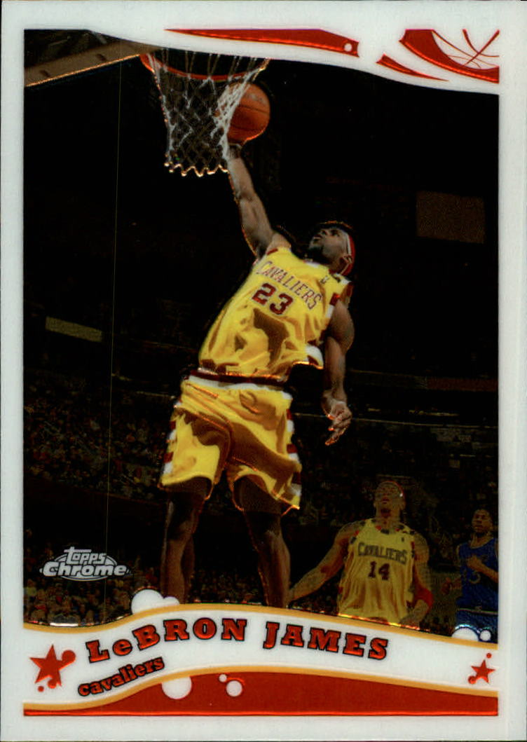 2005-06 Topps Chrome #102 Lebron James