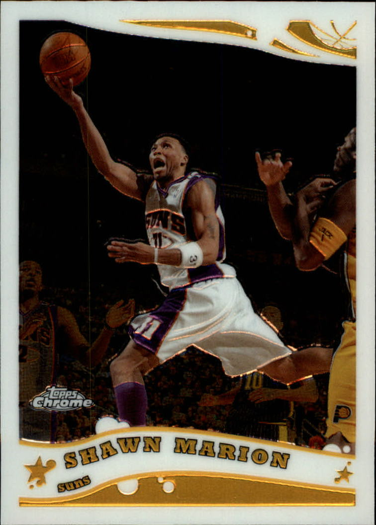 2005-06 Topps Chrome #107 Shawn Marion