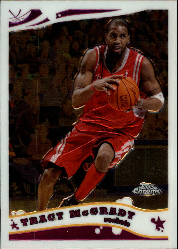 2005-06 Topps Chrome #110 Tracy Mcgrady
