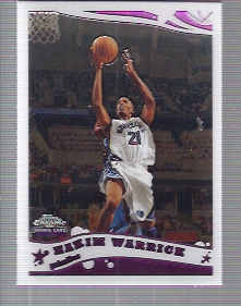 2005-06 Topps Chrome #167 Hakim Warrick RC