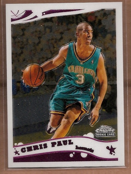 2005-06 Topps Chrome #168 Chris Paul RC