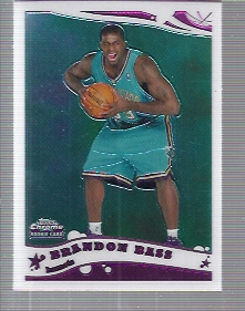 2005-06 Topps Chrome #204 Brandon Bass RC