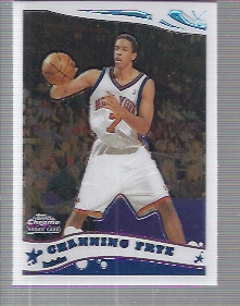 2005-06 Topps Chrome #206 Channing Frye RC
