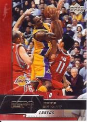 2005-06 Upper Deck ESPN #38 Kobe Bryant front image