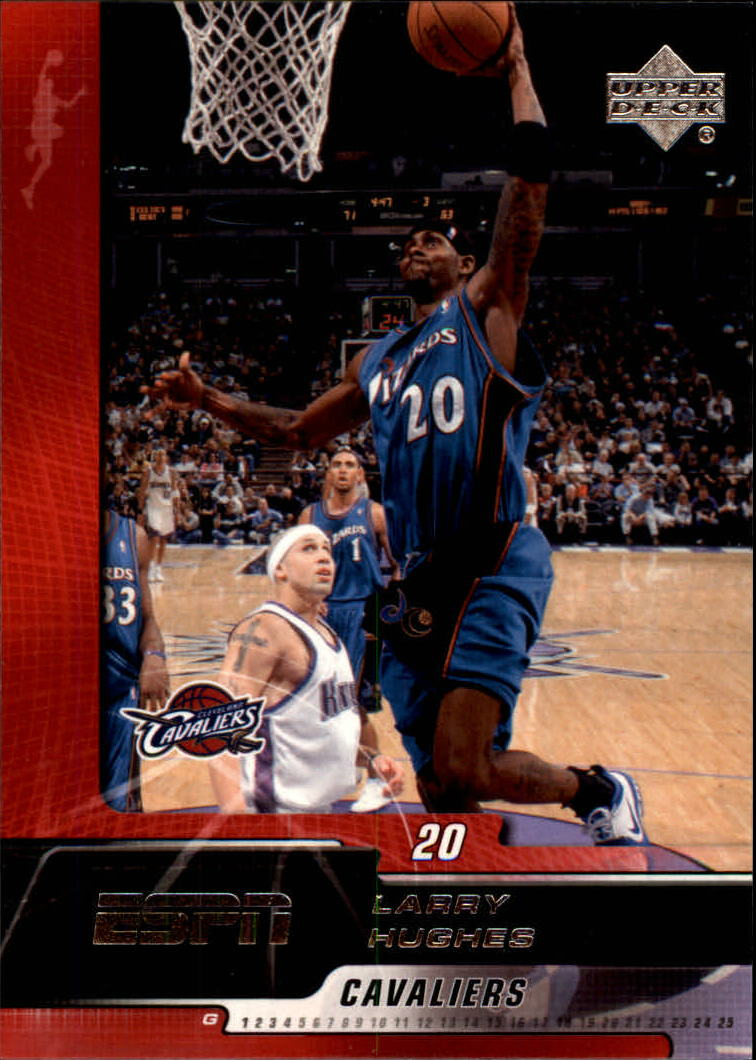 2005-06 Upper Deck ESPN #90 Larry Hughes