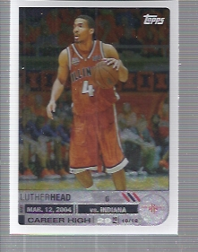 2005-06 Topps Big Game #124 Luther Head RC