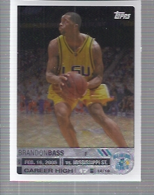 2005-06 Topps Big Game #133 Brandon Bass RC