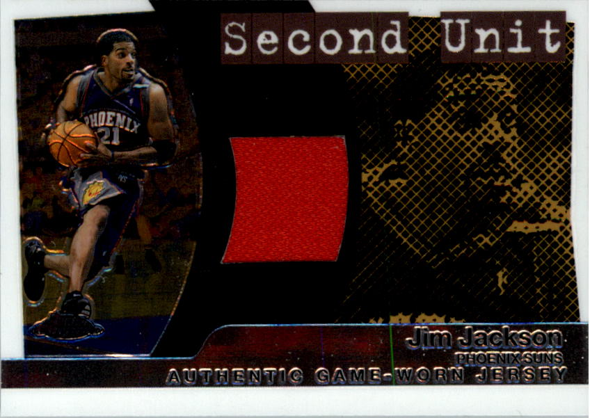 2005-06 Topps Chrome Second Unit #JJ Jim Jackson