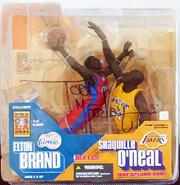 2003-04 McFarlane Basketball NBA All-Star Game Exclusive #10 Shaquille O'Neal/Elton Brand