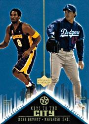 2002-03 UD SuperStars Keys to the City #K2 K.Bryant/K.Ishii