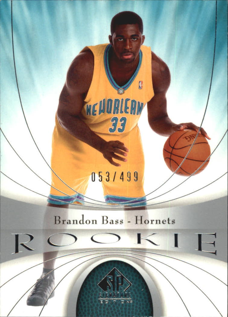 2005-06 SP Signature Edition #130 Brandon Bass RC