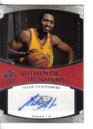 2005-06 SP Signature Edition Scripts for Success #SS Salim Stoudamire