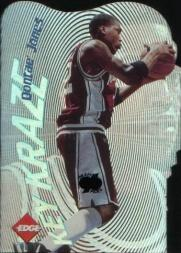 1996 Collector's Edge Key Kraze Die Cuts #10 Dontae' Jones