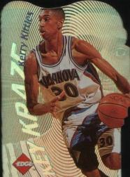 1996 Collector's Edge Key Kraze Die Cuts #11 Kerry Kittles